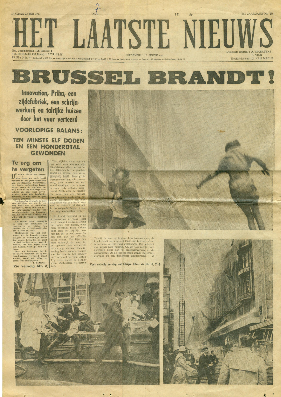 Afbeeldingsresultaat voor brand inno 50 jaar geleden