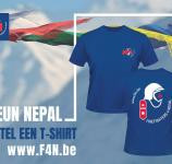 Firefighters 4 Nepal - Affiche T-shirtverkoop